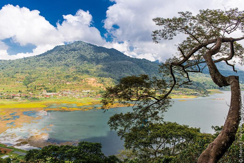 Горные озера на Бали