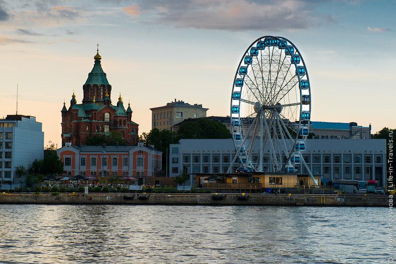Колесо обозрения в Хельсинки