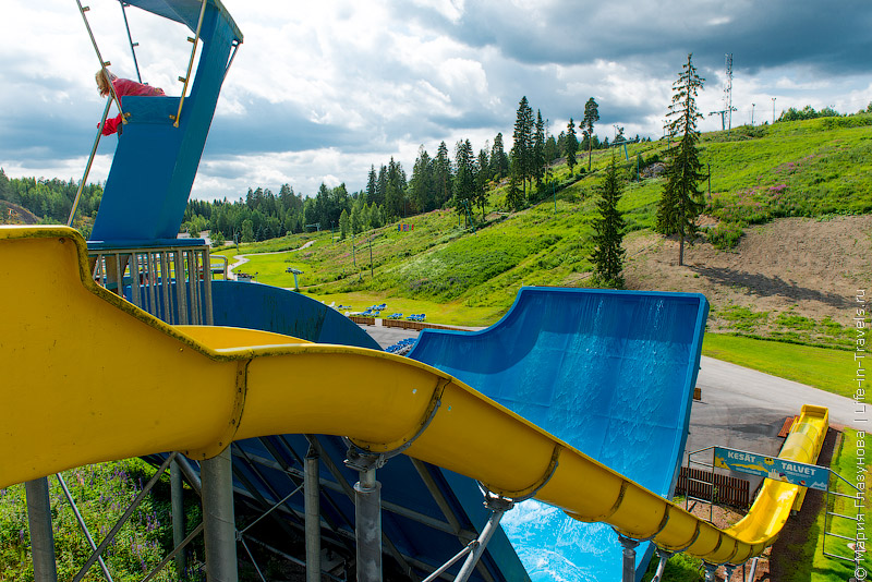Serena Waterpark Espoo – аквапарк Серена в Хельсинки