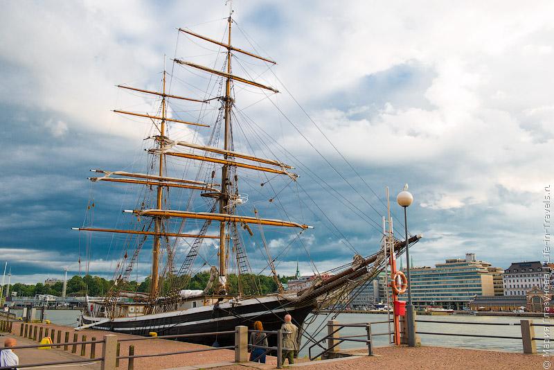 Набережная в Хельсинки