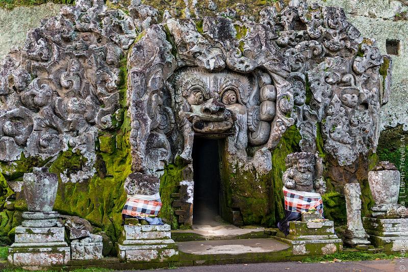 Слоновья пещера Гоа Гаджа (Goa Gajah)