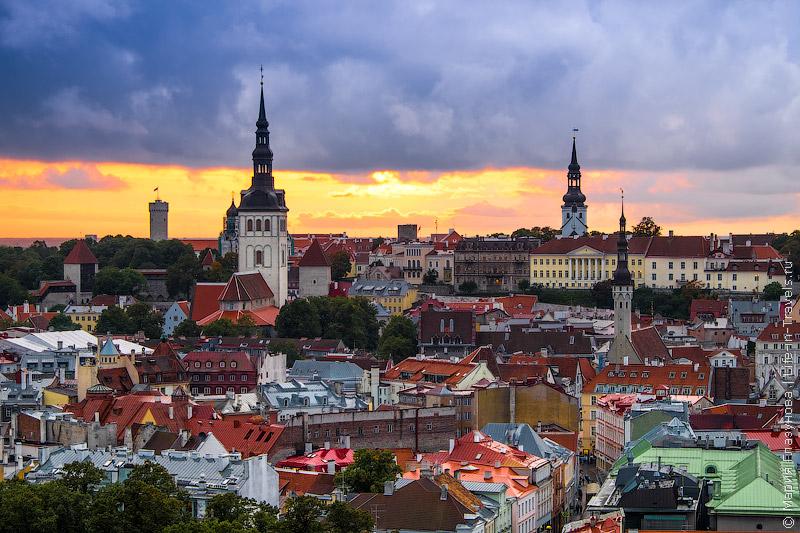 Закаты в Таллине