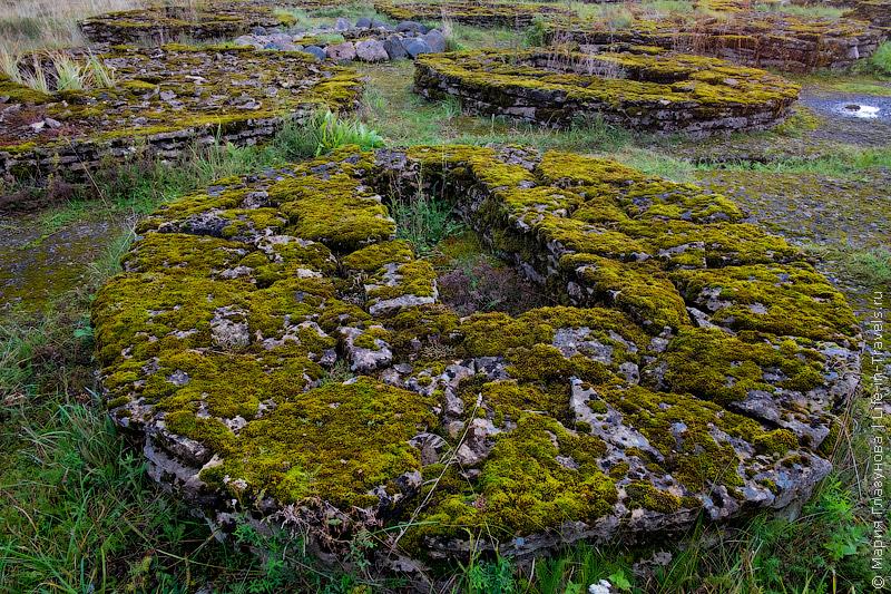 Старинные могильники, Эстония