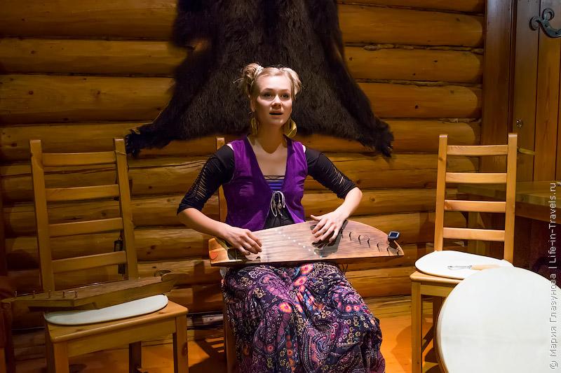 Лесная вилла-хижина «Медвежья Берлога», сауна в чуме «Inipi Spa» на берегу пруда и ужин под звуки финского фолка