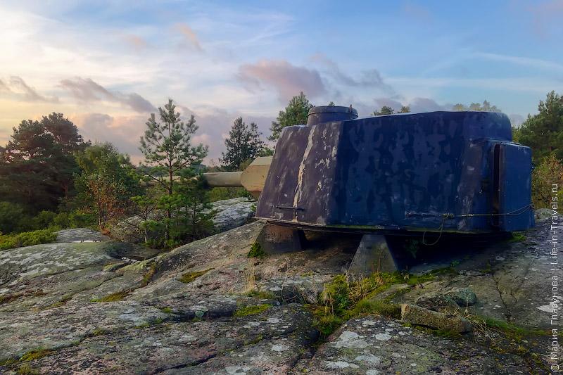 Остров-крепость Ёрё (Оро) в Финляндии