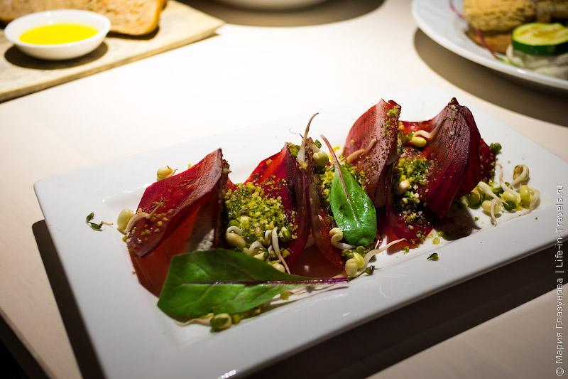 Вегетарианско-сыроедческий Vegan Restoran V в Таллине