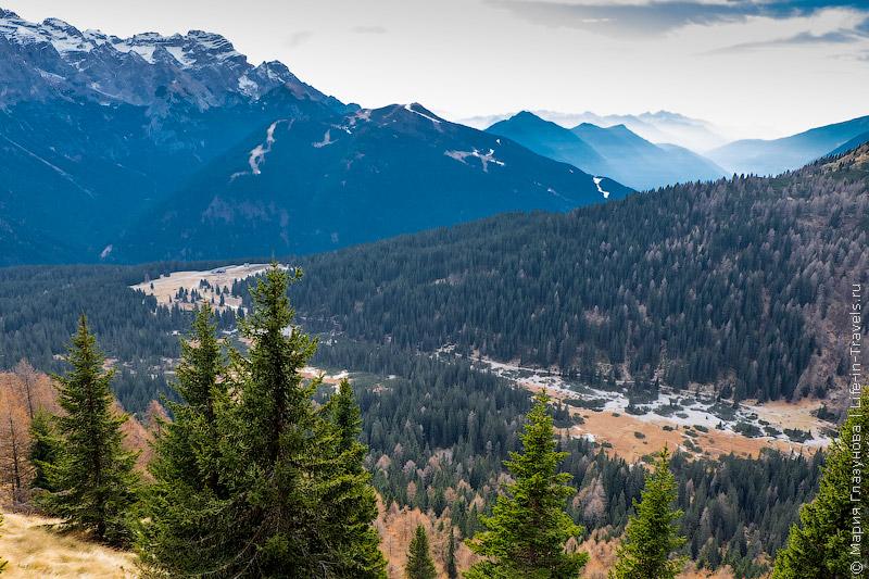 Национальный парк Адамелло-Брента, горнолыжный курорт Мадонна ди Кампильо