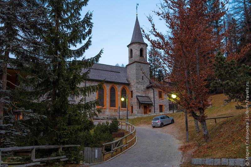 Мадонна ди Кампильо, Альпы, Италия