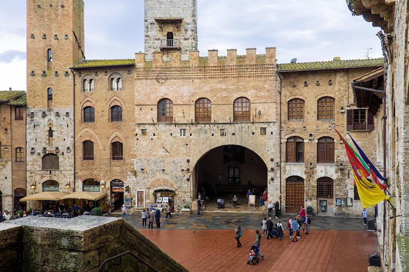 Сан-Джиминьяно, Тоскана, Италия