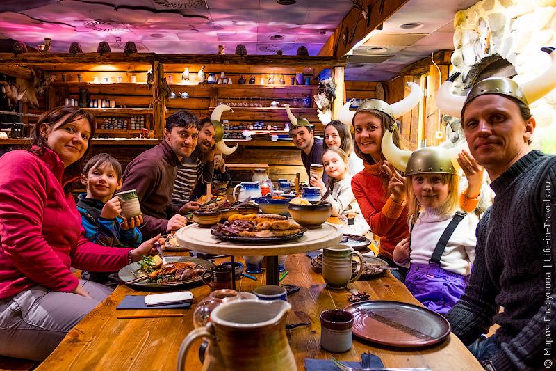 Кафе викингов в Тампере