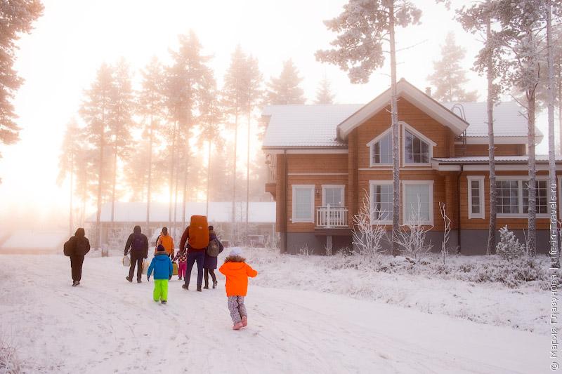 Горнолыжный курорт Саппее (Sappee) в Финляндии – самый ближайший к границе с Россией