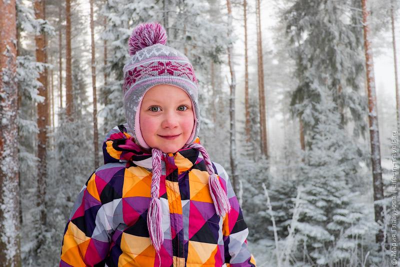 Настюша в Финляндии