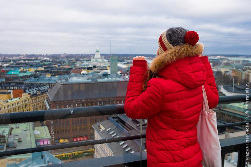 Смотровая башня-терраса Torni в Хельсинки