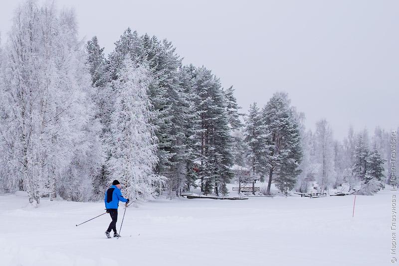 Лыжные трассы а Тахко