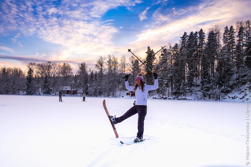 Лыжи в Финляндии