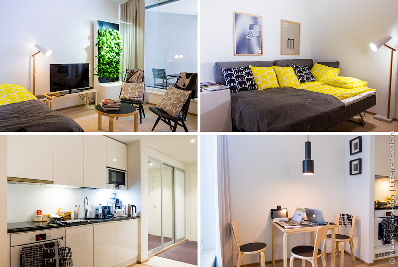 Aallonkoti Apartment Hotel в Хельсинки