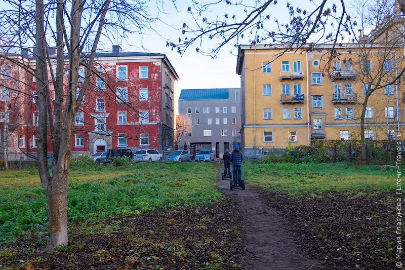 Сегвеи в Таллине