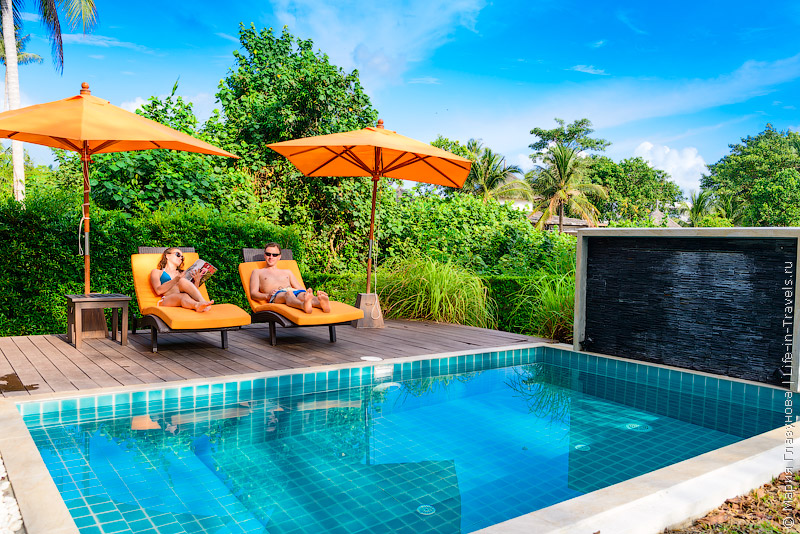 Виллы на Самуи – Khwan Beach Resort Samui, пляж Маенам, Таиланд