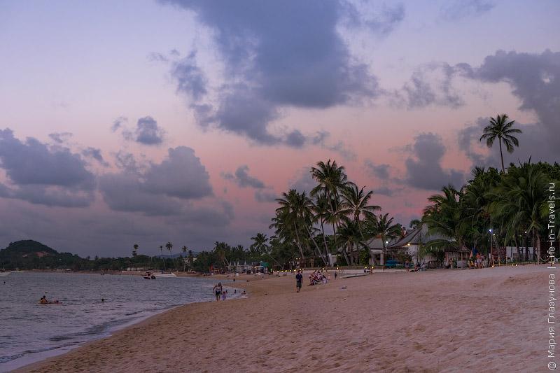 Пляж Маенам, Таиланд