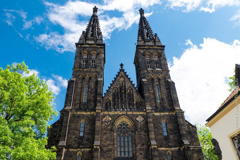 Прага – Собор Св.Павла, парк Вышеград.jpg