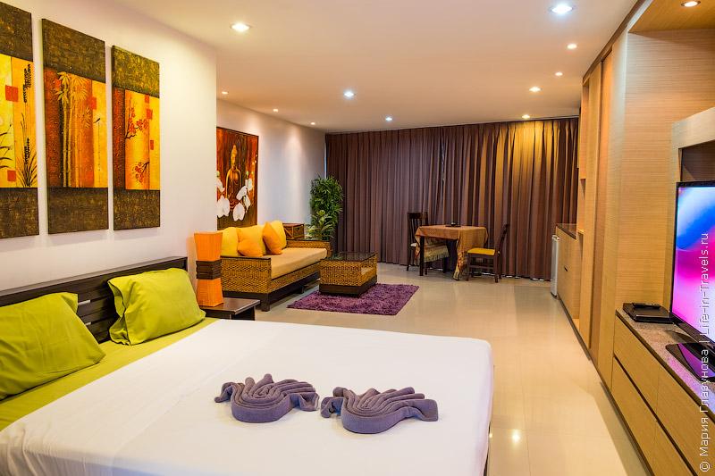 Апартаменты на Самуи Tropical Paradise Residence пляж Тонгтакиан, Ламаи