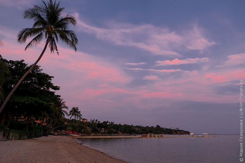 Пляж Ламаи, Самуи
