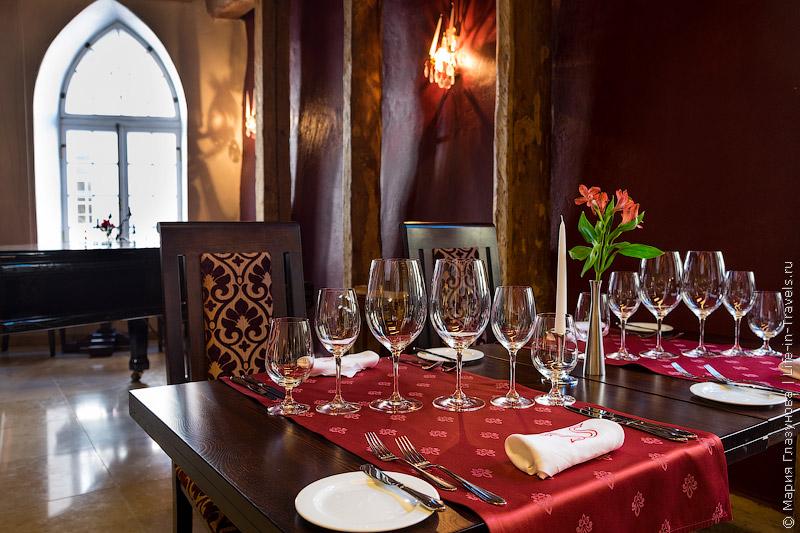 Аристократический ресторан Bordoo в Таллине