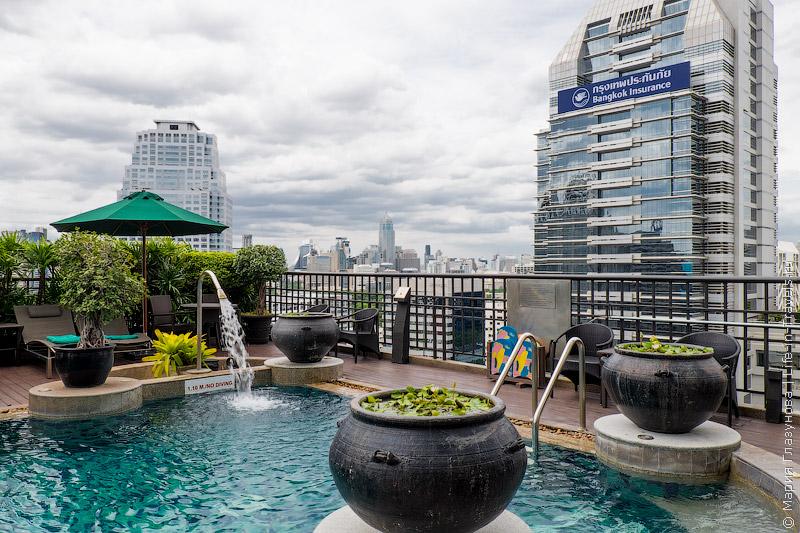 Banyan Tree Bangkok роскошные номера с видом на город или реку – отель 5* в Бангкоке, Таиланд