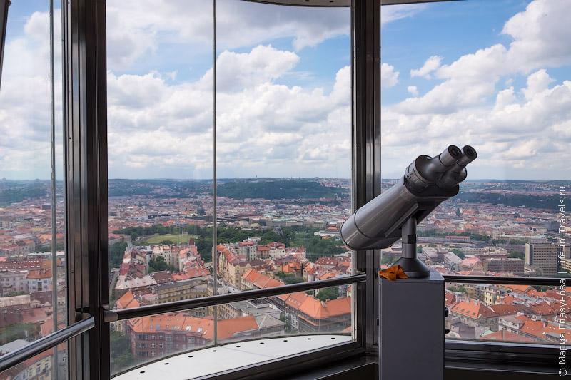 Жижковская телевизионная башня, Прага