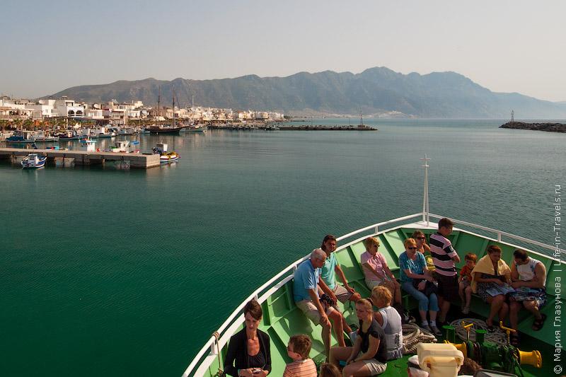 Островок-вулкан Ниссирос, Греция, Кос