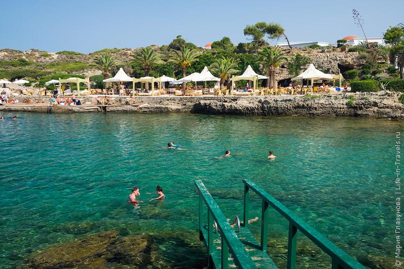 Пляж Каллифея, Родос