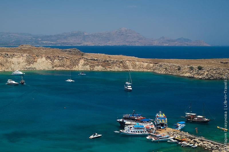 Пляж Линдос, Родос