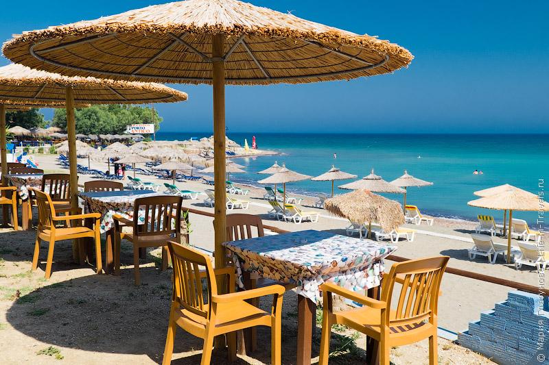 Пляж Порто Антико, Родос