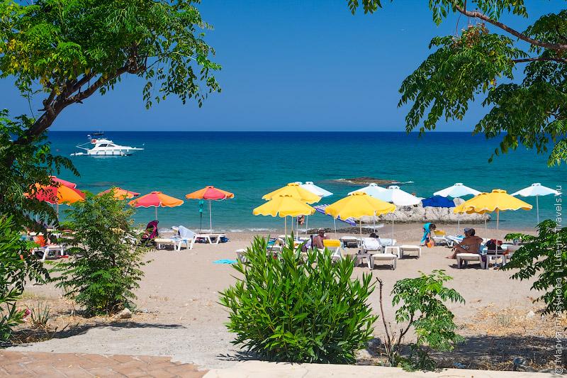 Пляж Стегна, Родос