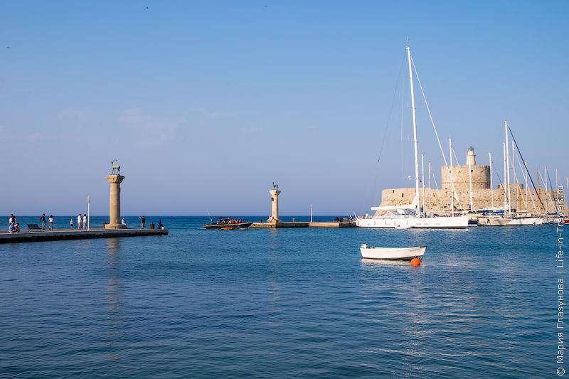 Порт Мандраки, Родос