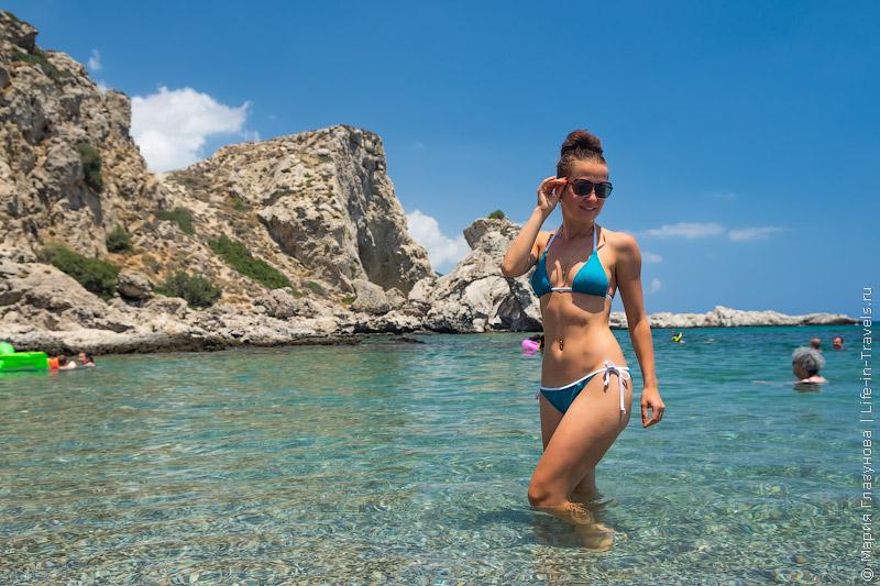 Секретный пляж на Родосе