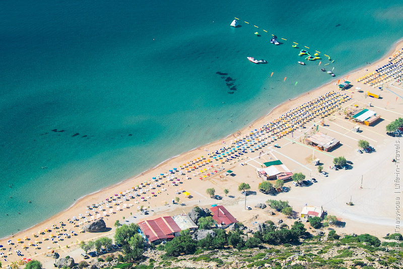 Цамбика (Тсамбика) пляж, Родос