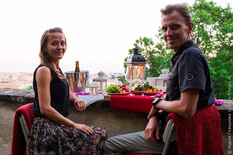 Prague for Two – идеальный романтический вечер-сюрприз в Праге