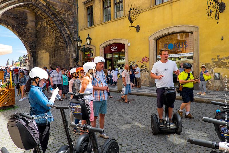 Segway fun в Праге