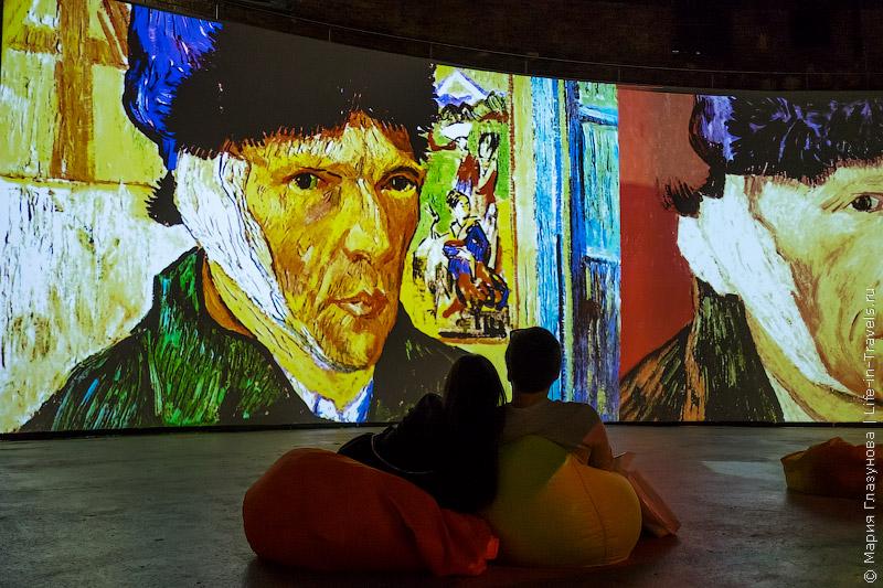 Живые полотна Ван Гога