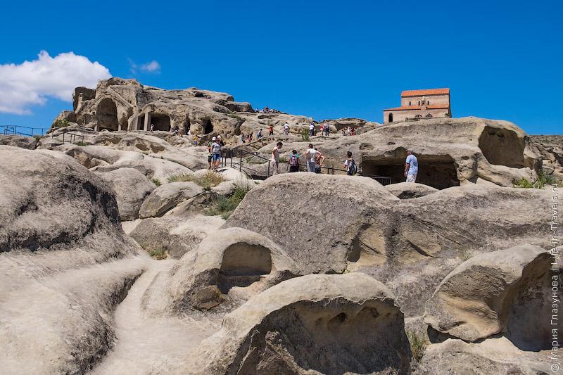 Уплисцихе – древнейший пещерный город, Грузия