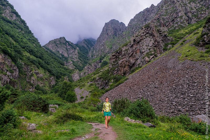 Водопад Гвелети, Казбеги