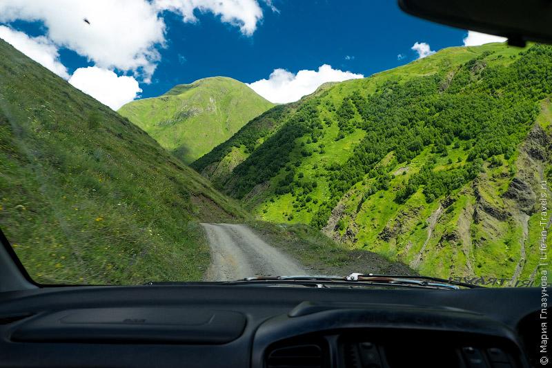 Грузия: Долина Сно, деревня Джута, гора Чаухи