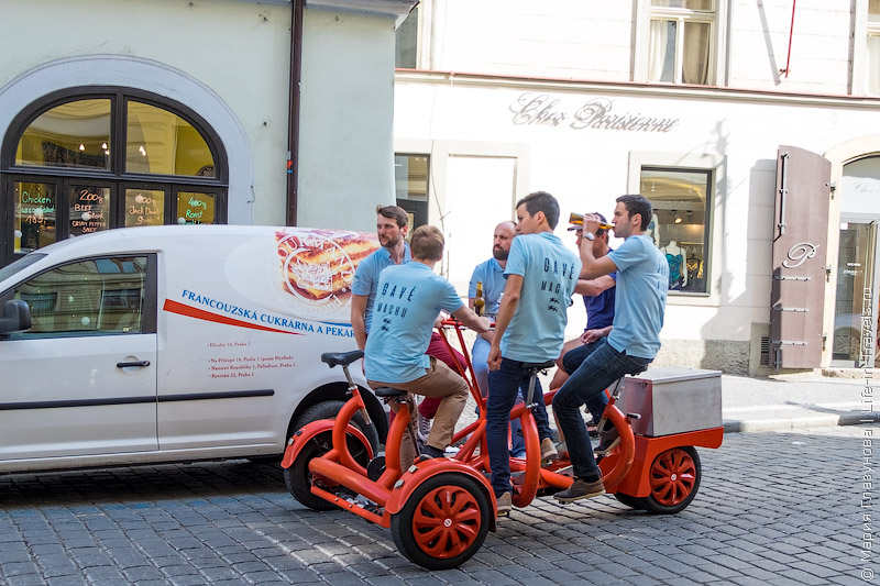 Прага на велосипеде