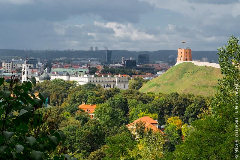 Замок-башня Гедиминаса (Гедемина)