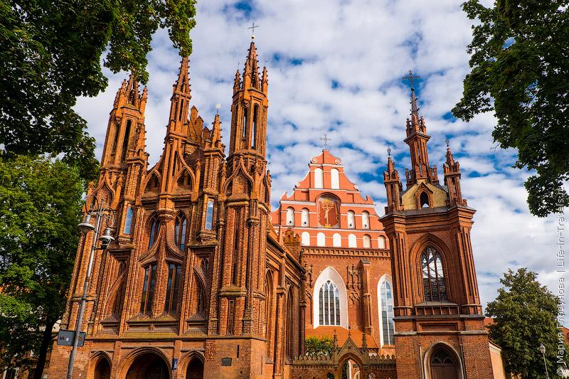 Костел Святой Анны и Бернардинский костел
