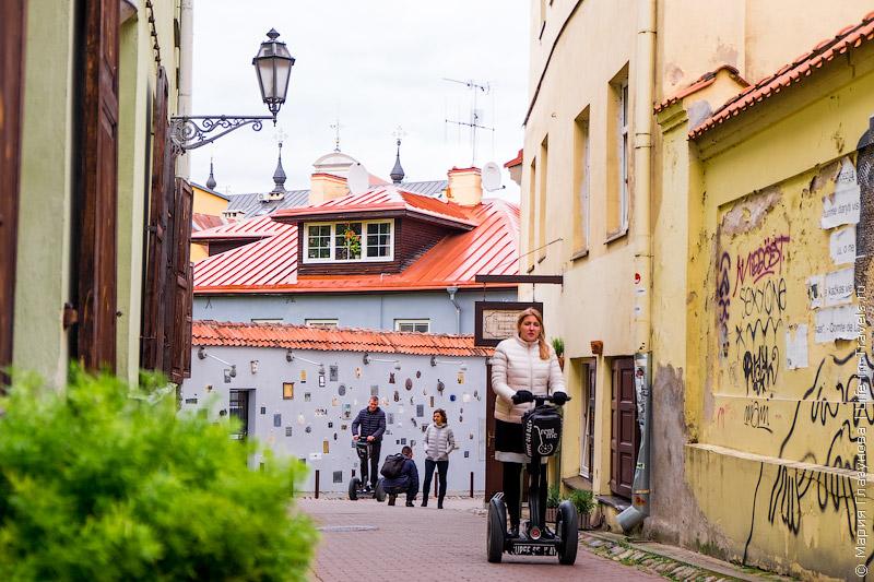 Сегвеи в Вильнюсе