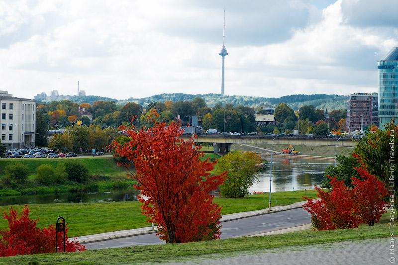 Телебашня в Вильнюсе
