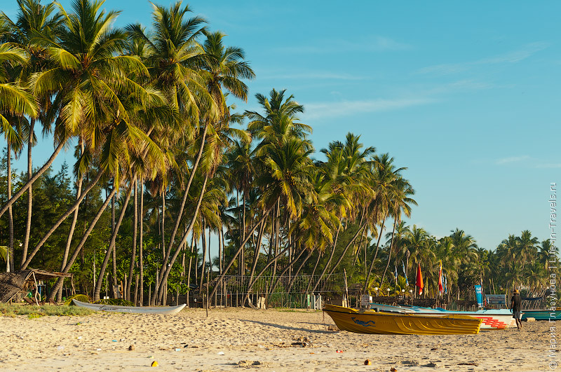 Пляжи Шри-Ланки
