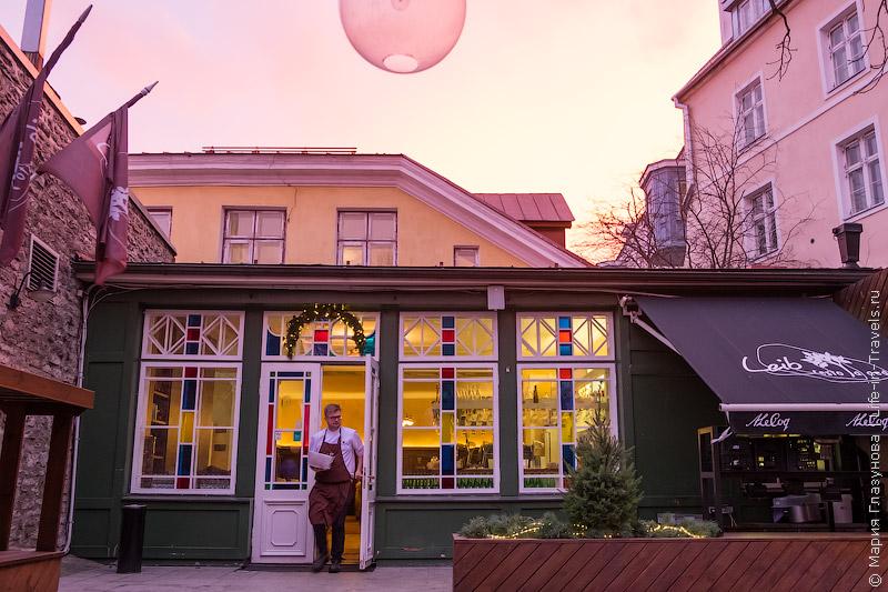 Leib Resto ja Aed – душевный ресторан в Старом городе, Таллин